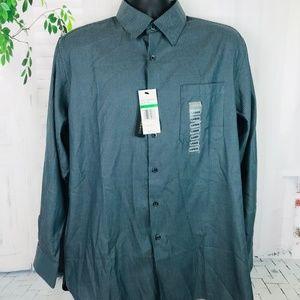 AXIST COASTAL CLASSIC Houndstooth L/S Shirt NWT L
